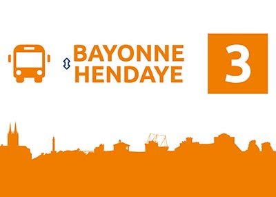 Ligne 3 – Bayonne Hendaye