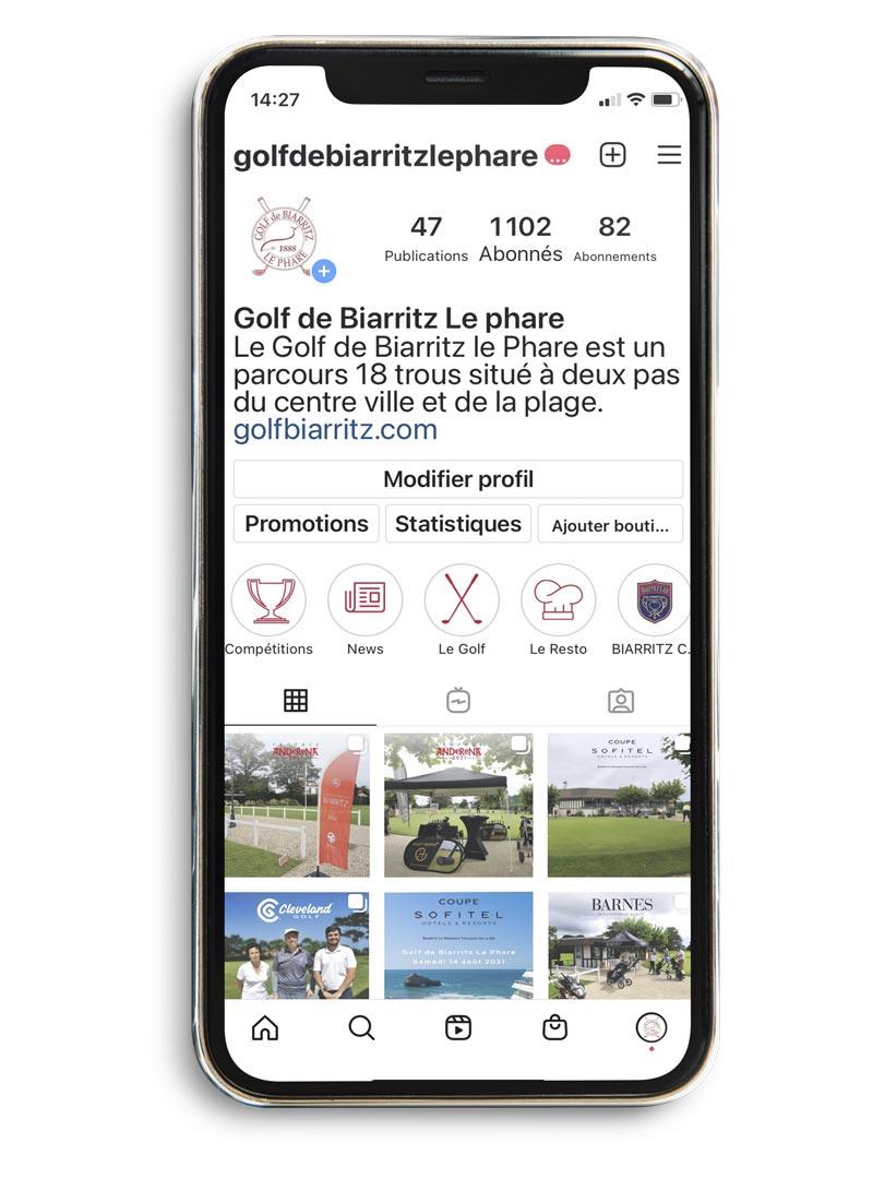 Community manager - Golf de Biarritz Le Phare